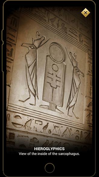Hieroglyphic picture